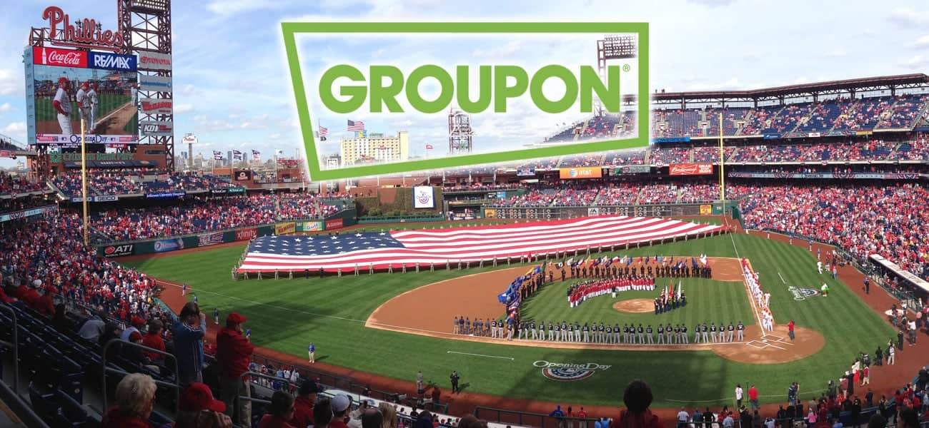 MLBs Phillies Turn To Groupon To Lift Ticket Sales - Groupon baseball tickets