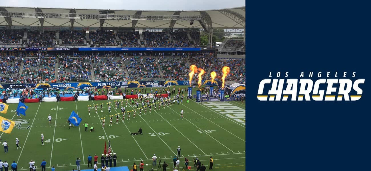 Empty Seats Greet Los Angeles Chargers Nfl Debut
