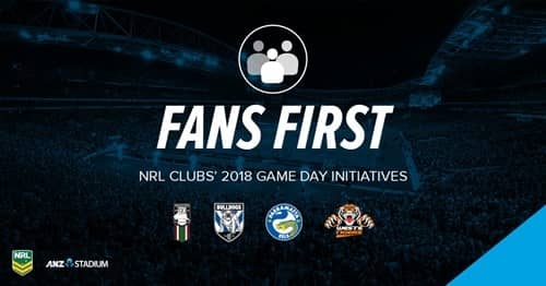 NRL Fans First ANZ Stadium