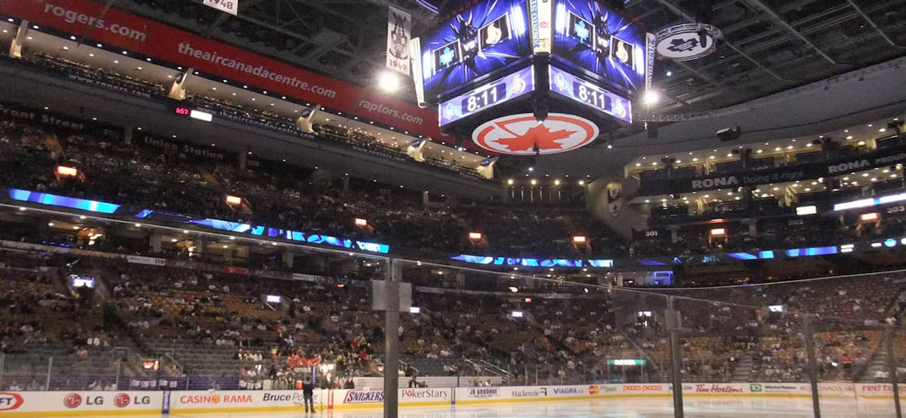 Leafs Raptors Air Canada Center