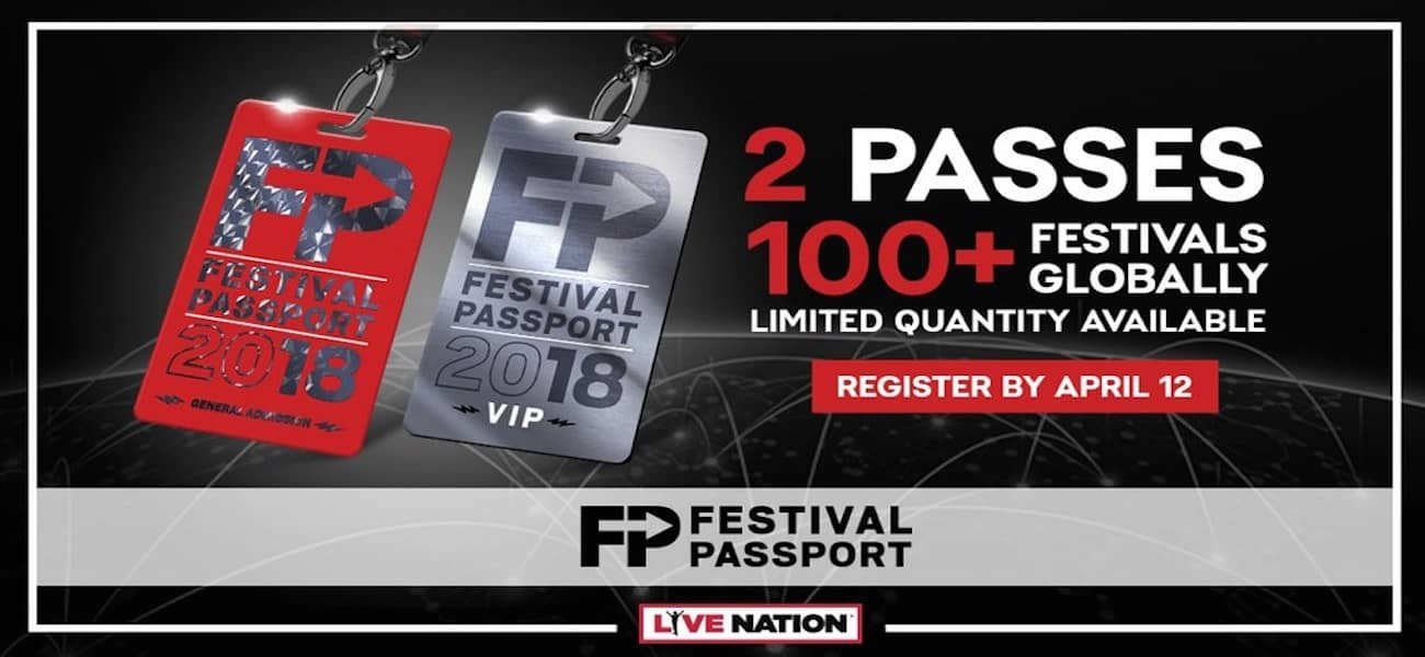 festival passport Live Nation
