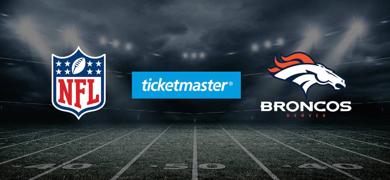 Denver Broncos and Ticketmaster