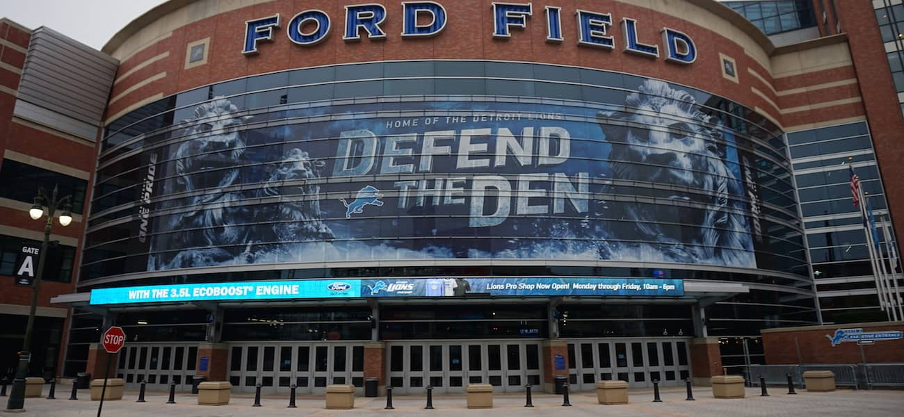 Detriot Lions Flash Seats