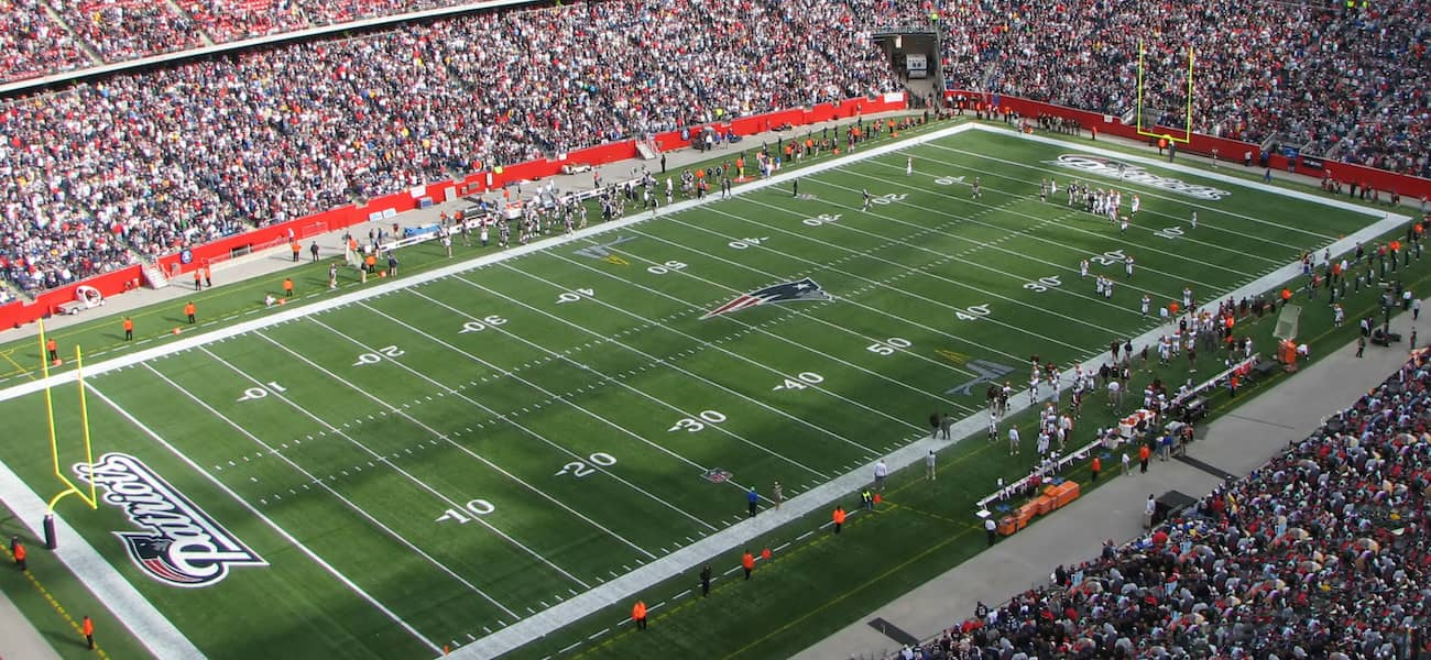 Gillette Stadium Patriot
