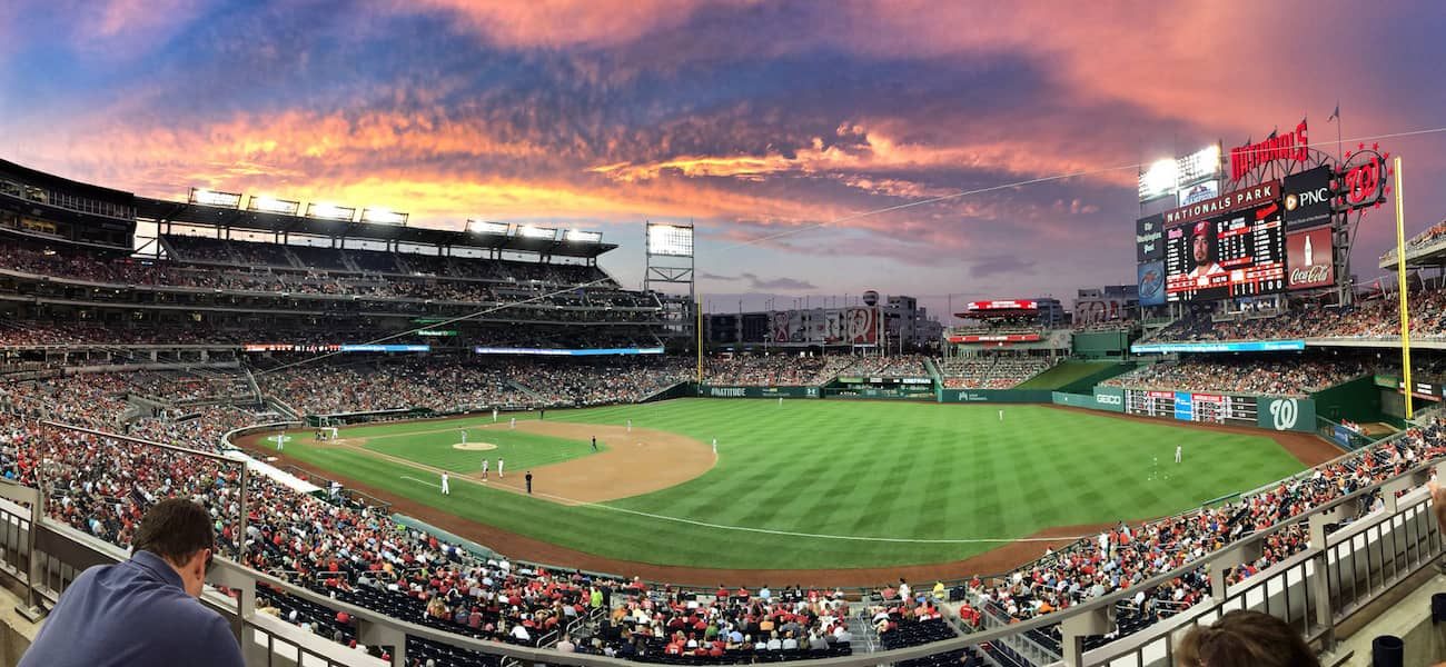 MLB Clear Nationals Park