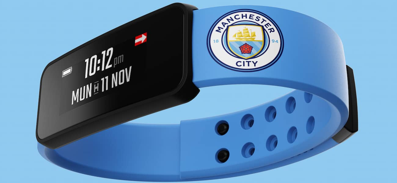 Manchester City smart wristband fantom