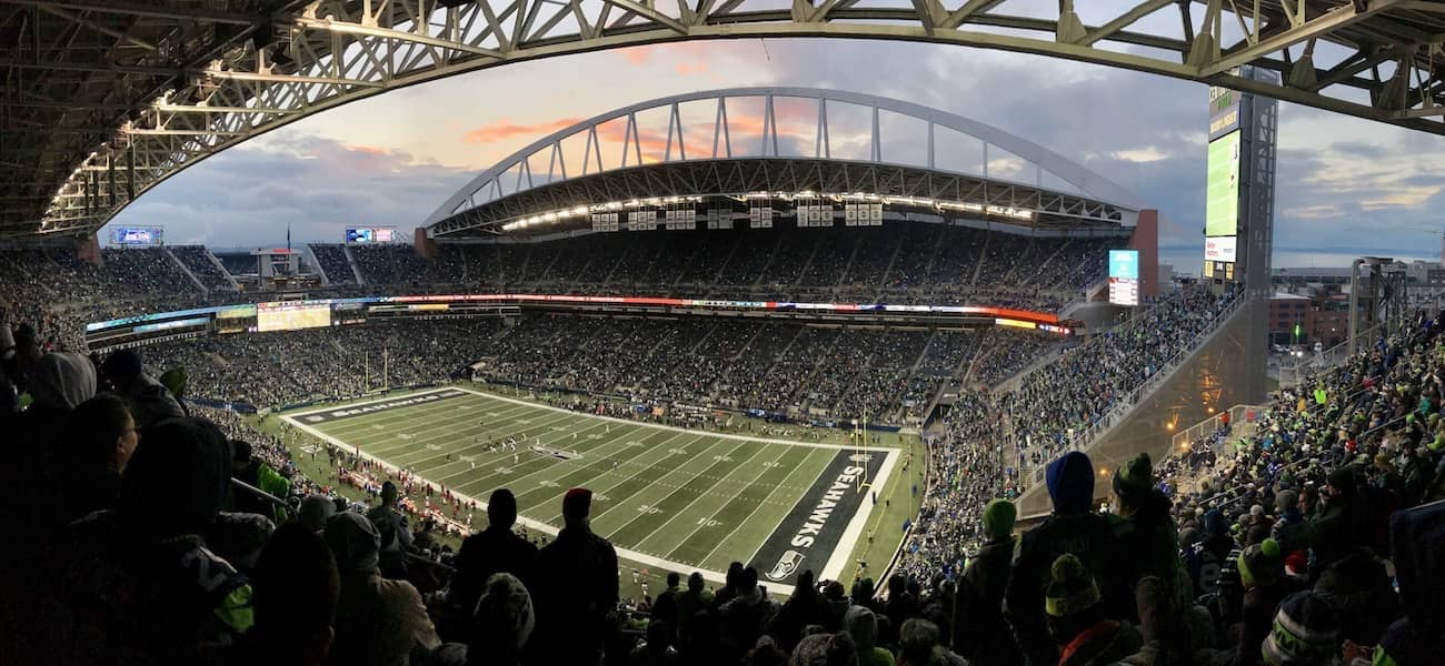 CenturyLink Field Seattle Clear