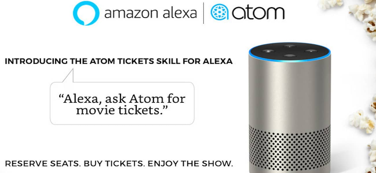 Atom Tickets Amazon Alexa