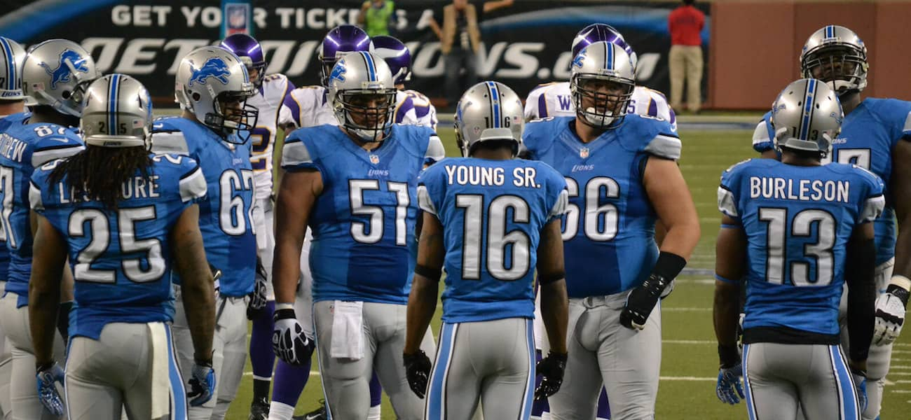 competitive price e92be 132d6 Detroit Lions joins QuintEvents to offer travel packages ...