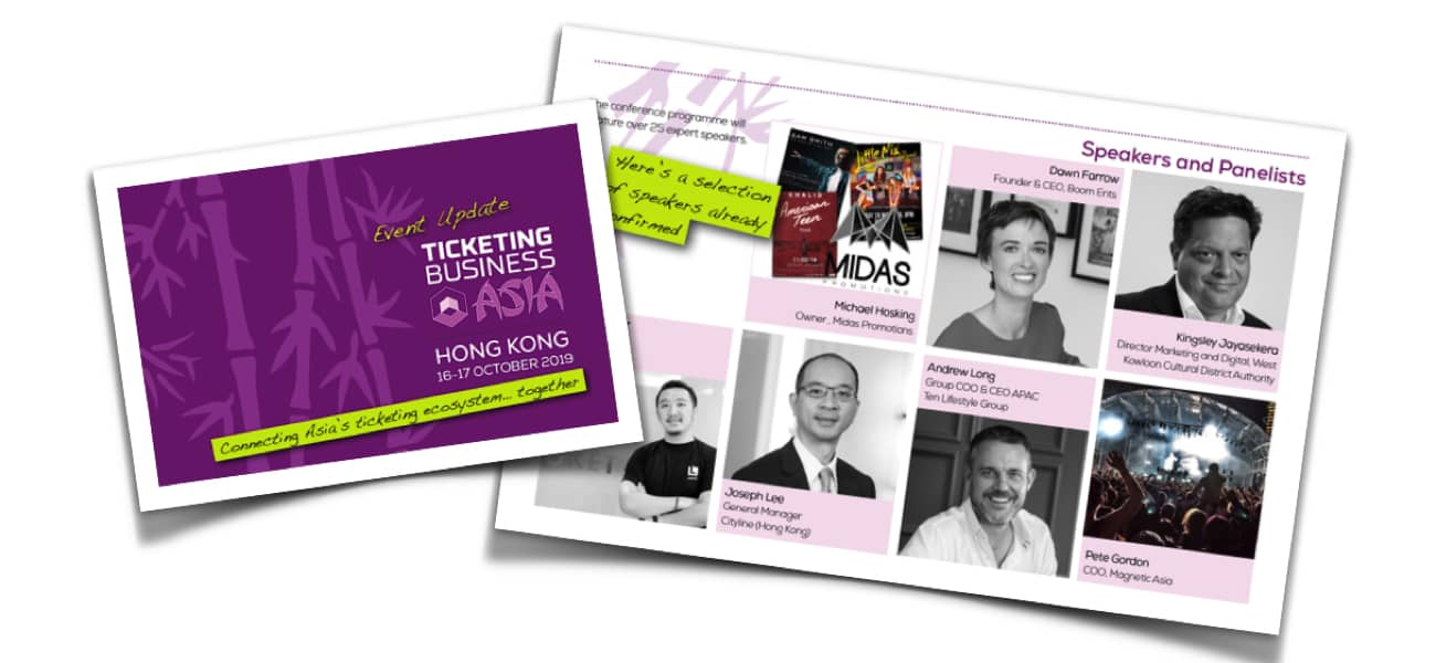 First 15 speakers announced for Asia meeting - TheTicketingBusiness News